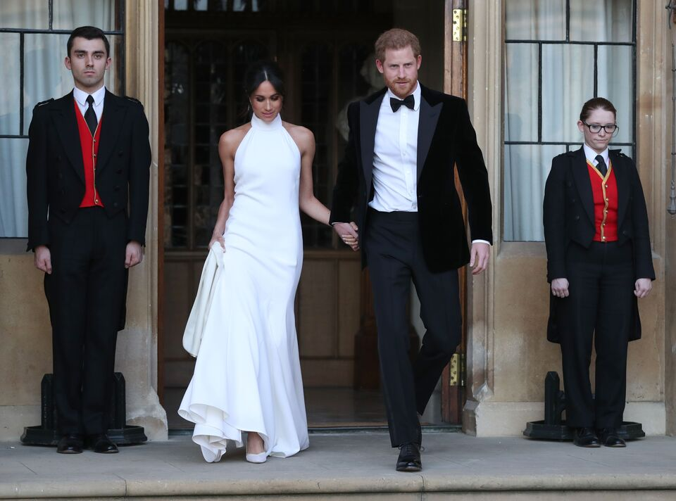 Searches For 'White High Neck Dresses' Surge After Royal Wedding