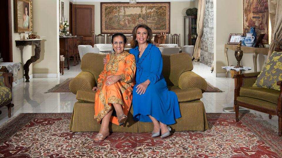 Dr. Abeer Al Omar and Latifa Al Barak