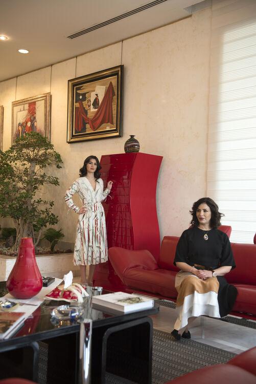 Maha Al Ghunaim and Aseel Al Yaqoub
