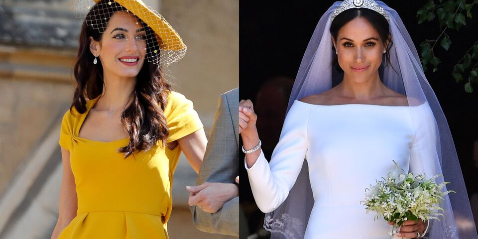 Amal Clooney Is Helping Meghan Markle Adjust To Her New Life In London