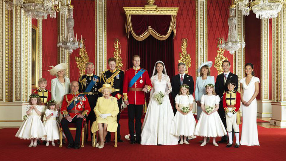 Royal Wedding Portraits From Around The World