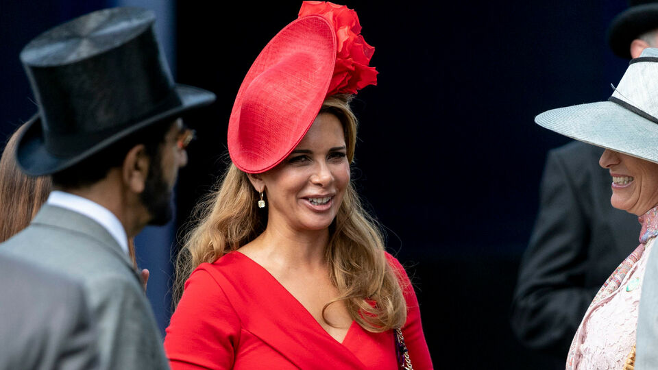 Princess Haya Ups The Style Stakes At Epsom Derby