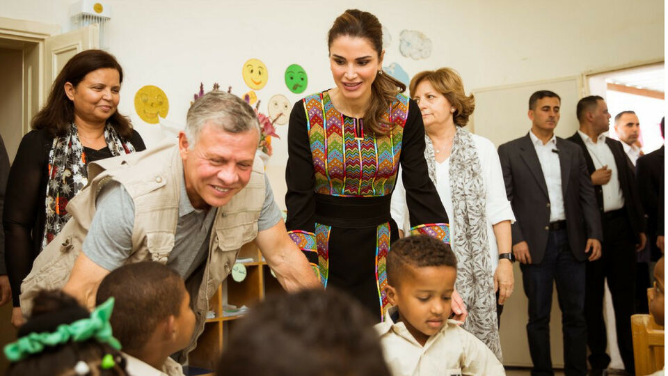 Queen Rania Just Wore The Chicest Kaftan