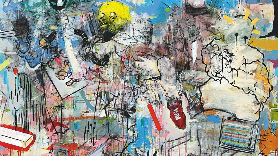 Tunisian Artist Thameur Mejri's Inevitable Journey
