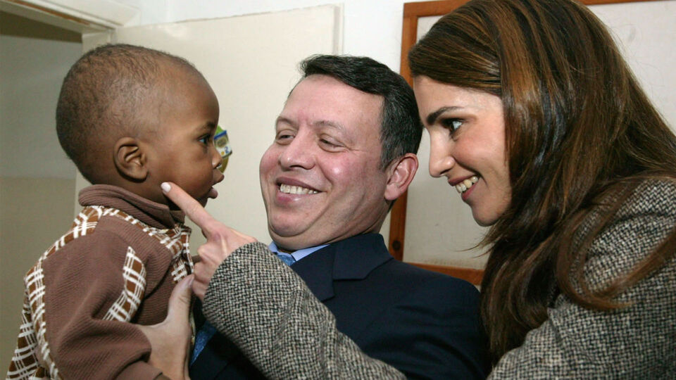 Queen Rania And King Abdullah II's Sweetest Moments Over The Years