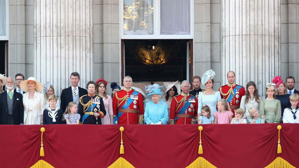 Meghan Markle Joins The Royal Family On The Buckingham Palace Balcony For The First Time