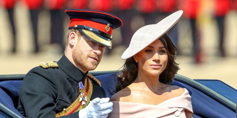 Meghan Markle Broke Royal Protocol At Trooping the Colour 2018