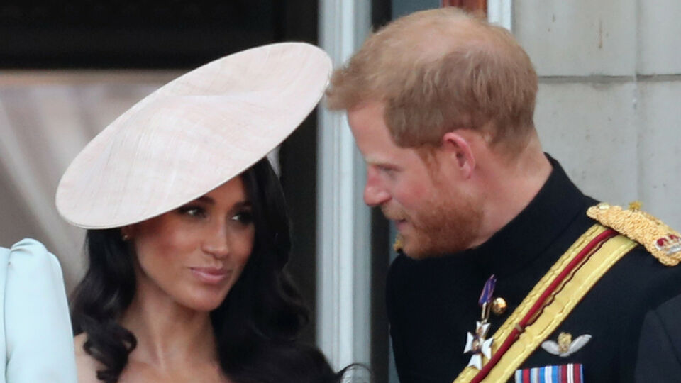 A Lipreader Reveals What Prince Harry Said To Meghan Markle At Trooping The Colour