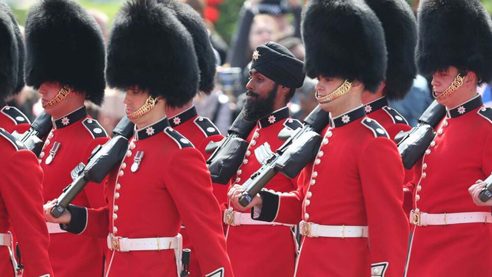 A Sikh Guardsman Just Became The First to March In A Turban At The Trooping The Colour