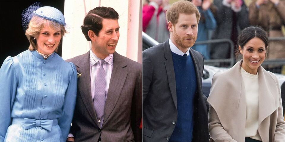 How Harry And Meghan Will Follow In Charles And Diana's Footsteps On First Royal Tour