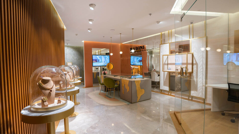 Pictures: Nadine Jewellery Opens First Boutique In Jeddah