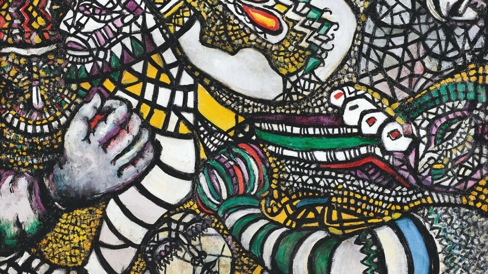 Turkish Artist Fahrelnissa Zeid's Kaleidoscope Of Colour