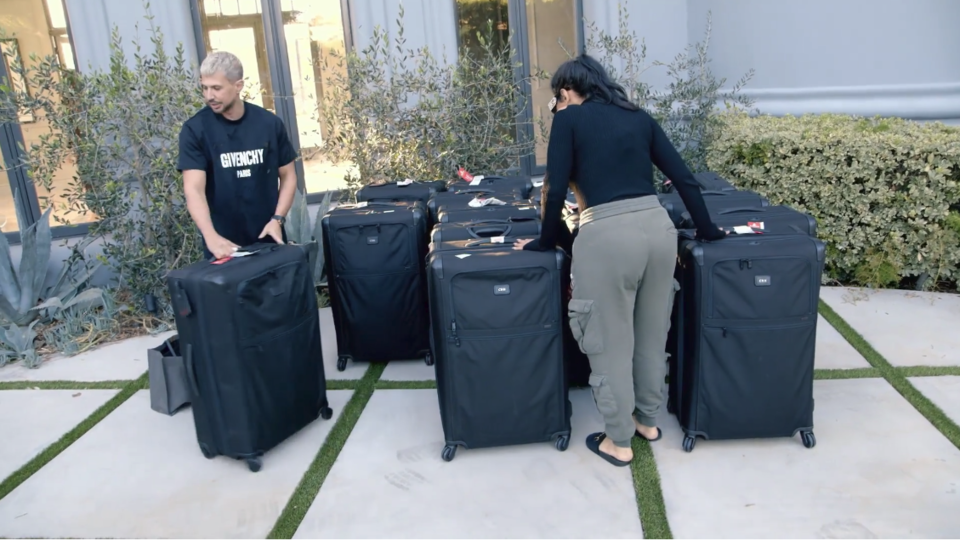 Huda Boss Luggage