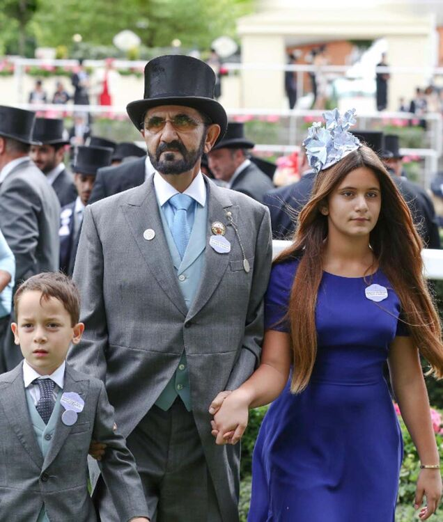Pictures: Dubai Royal Family Attend Royal Ascot 2018