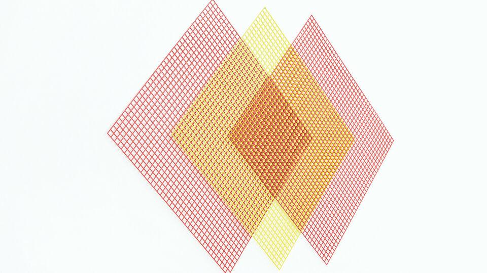 Rana Begum's Awe-Inspiring Work Featuring Directional Geometry