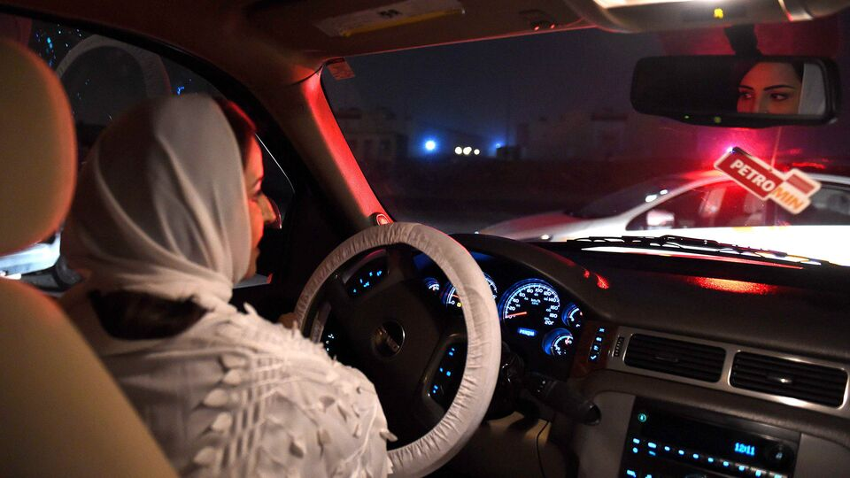 Pictures: Saudi Arabia Lifts Ban On Female Drivers