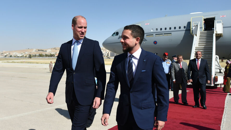 Pictures: Prince William And Prince Hussein In Jordan