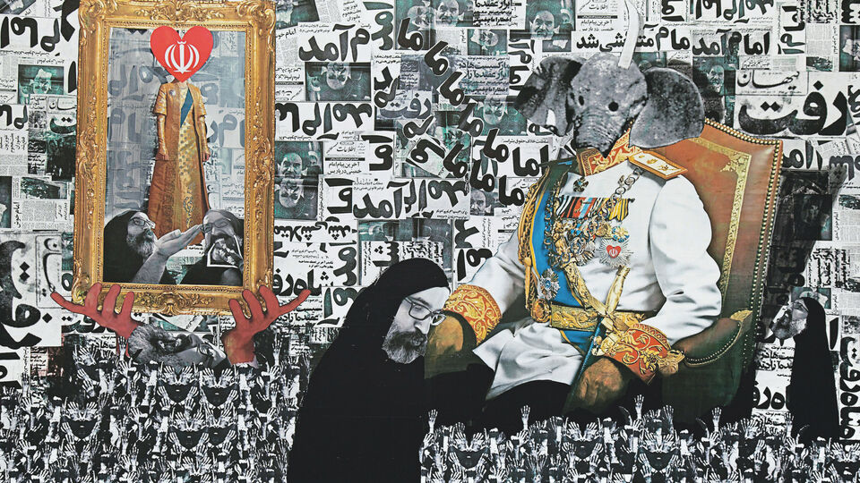 LACMA's Show Of Contemporary Iranian Art To Tell Tales Of An Inescapable Past