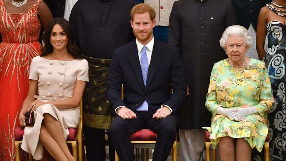 The Duke and Duchess of Sussex attend the Queen's Young Leaders' Awards