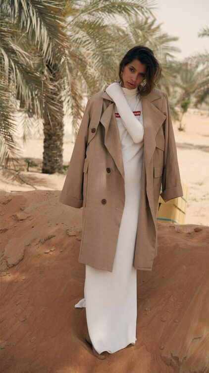 Pictures: Saudi Designer Arwa Al Banawi's Stunning A/W18 Collection