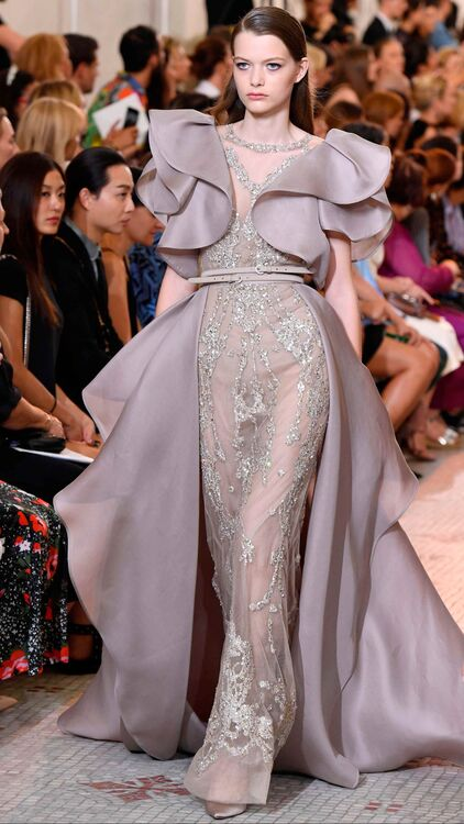 Elie Saab Takes Us On Opulent Journey With Autumn/Winter 18 Couture