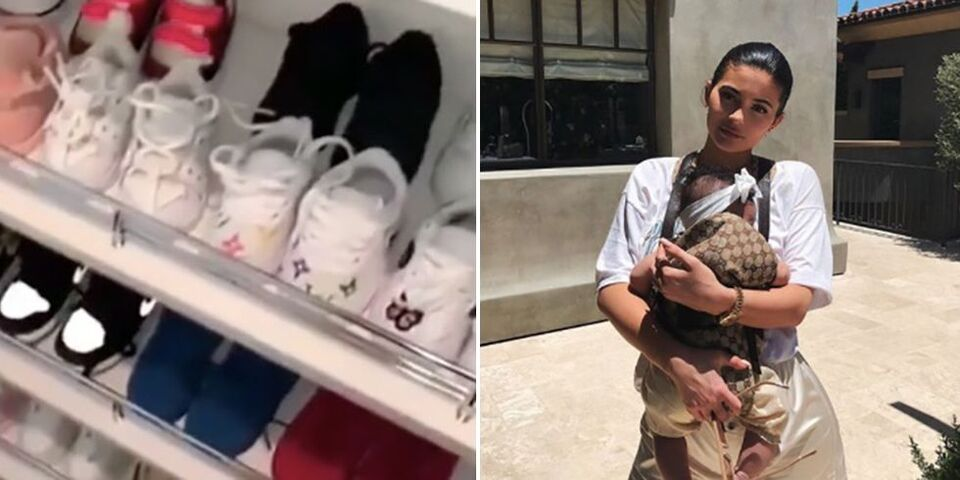 Kylie Jenner's Daughter Stormi Has a Casual Shoe Collection Worth Over $22,000 Already