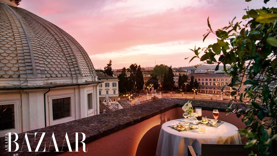 Review: Bazaar On Location At Rome's Iconic Hotel de Russie