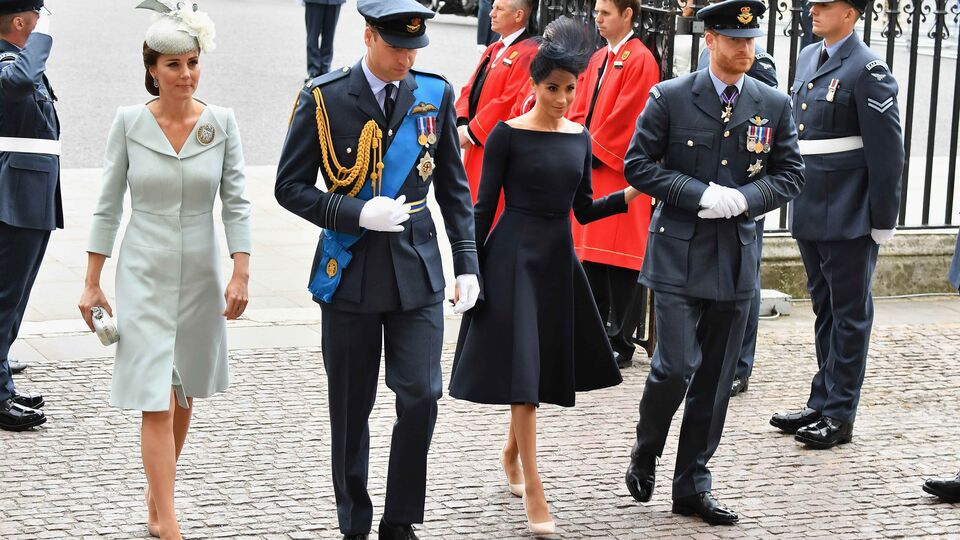 Meghan Markle Channels Audrey Hepburn In The Perfect Retro Dress