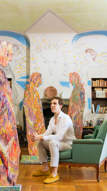 Villa Santo Sospir To Show 'Oneness Wholeness With Jean Cocteau' by Sassan Behnam-Bakhtiar