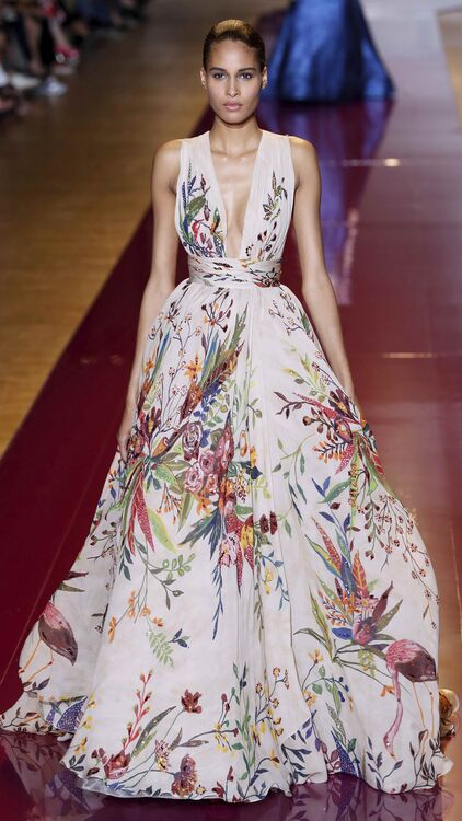 Pictures: Zuhair Murad's Showstopping Looks On And Off The Runway