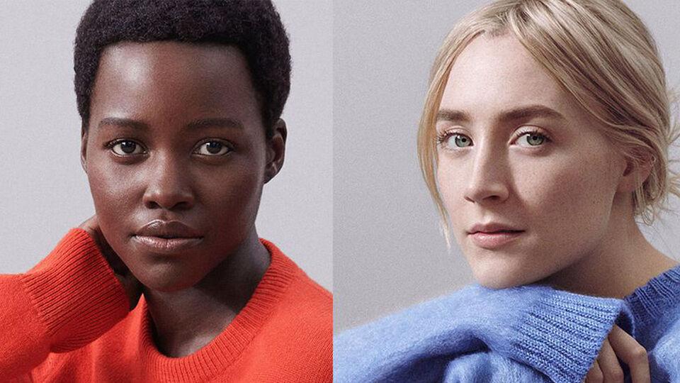 Lupita Nyong'o And Saoirse Ronan Star In Calvin Klein's New Perfume Ad