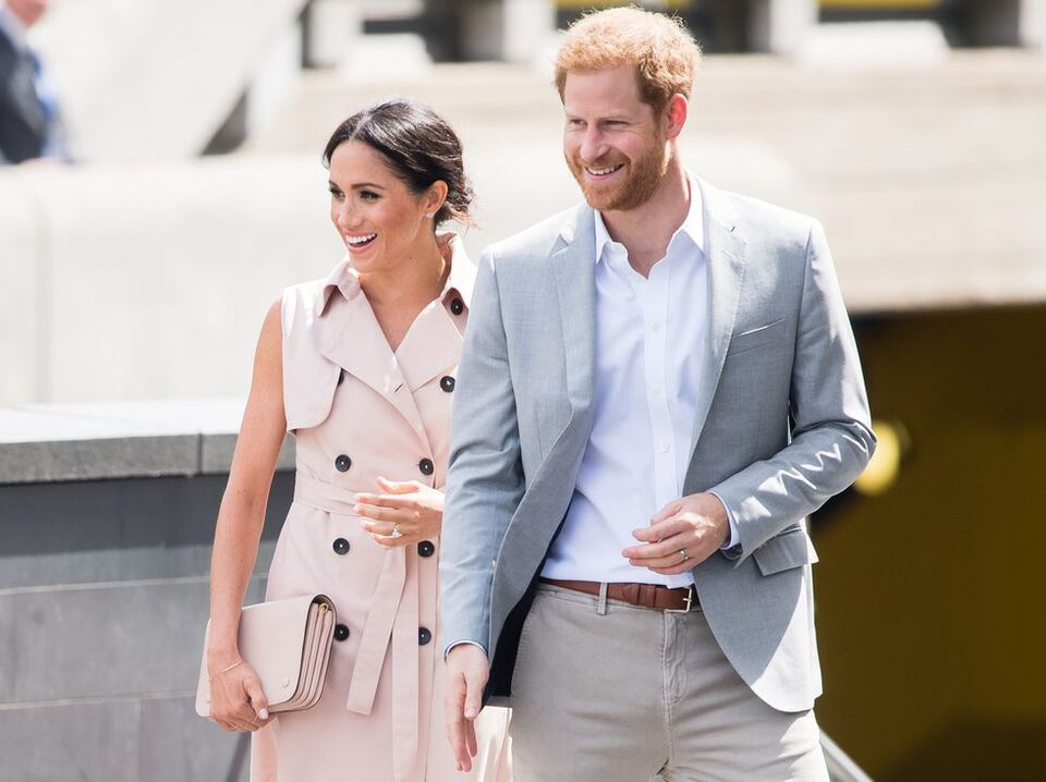 Meghan Markle Is Back To Wearing Blush Pink At The Nelson Mandela Exhibit