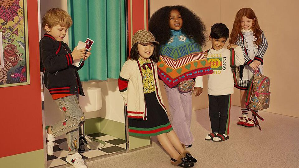 Net-A-Porter Launches Childrenswear Range With Gucci