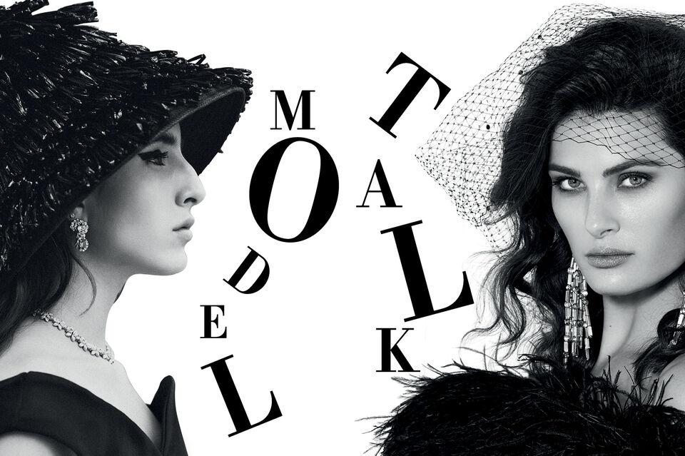 Supermodel Isabeli Fontana Shares Three Decades Of Experience With Breakthrough Saudi Model Taleedah Tamer