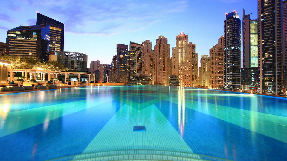 Dubai Marina Just Got A Chic New Pool Party