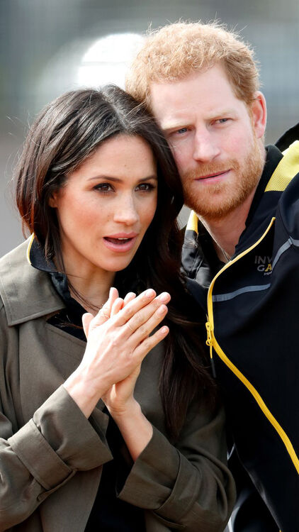 All of Prince Harry and Meghan Markle's Sweetest PDA Moments