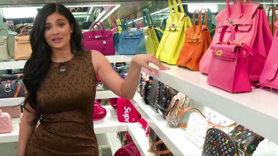 Kylie Jenner Just Shared a Tour of Her Jaw-Dropping Purse Closet