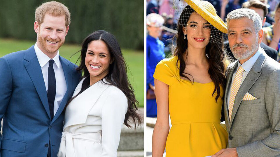 Meghan Markle And Prince Harry Reportedly Stayed With George And Amal Clooney In Lake Como