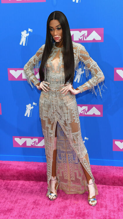 All The Celebrities Who Wore Middle Eastern Designers At The 2018 VMAs