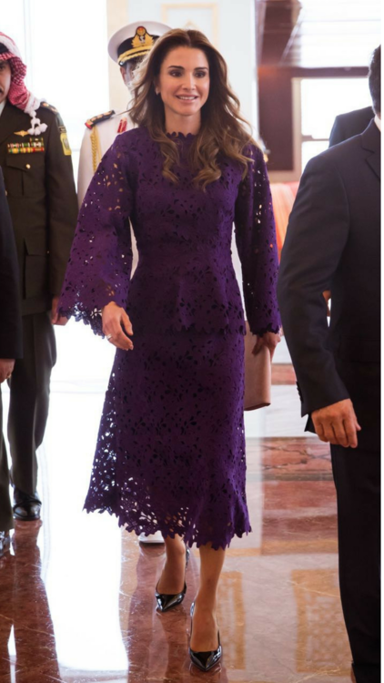18 Times Queen Rania Supported Middle Eastern Designers