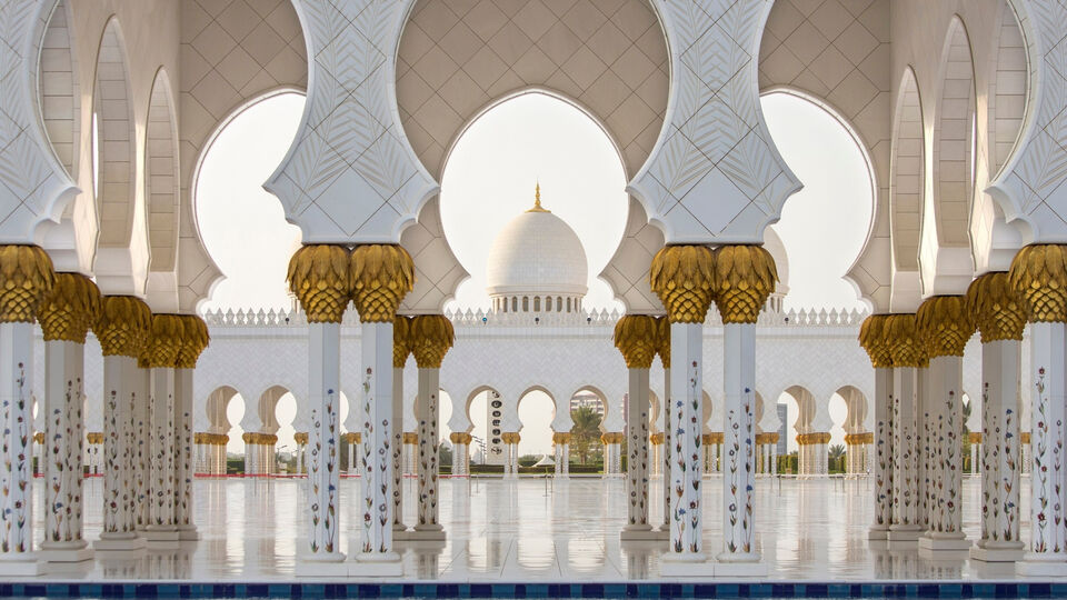 Sheikh Zayed Grand Mosque Named As One Of The Most Important Mosques In The World