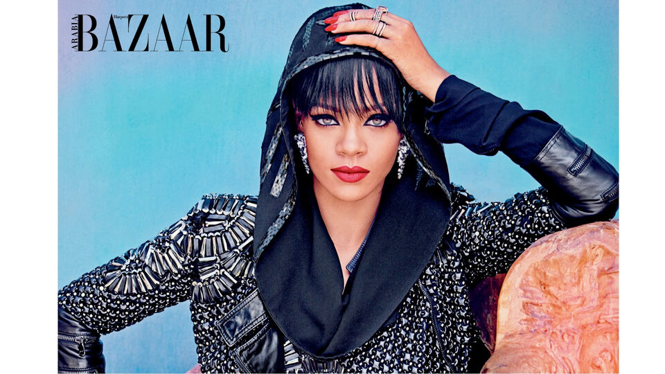 Rihanna Wore An Oversized Cardigan But Skipped Pants At The Airport