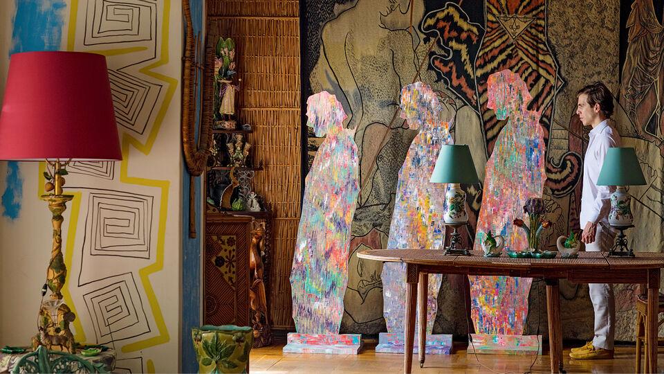 Sassan Behnam-Bakhtiar's 'Oneness Wholeness with Jean Cocteau' Unveiled