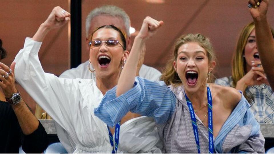 No One Had More Fun At The US Open Than Gigi And Bella Hadid