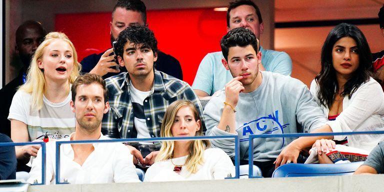 Priyanka Chopra And Nick Jonas Had A Double Date With Sophie Turner And Joe Jonas At The US Open