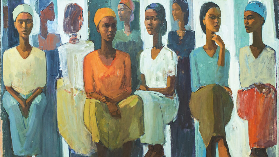 Uncovering The Gems At Ethiopia's Addis Fine Art Gallery