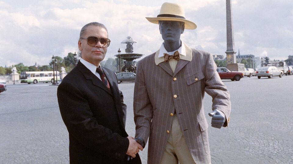Karl Lagerfeld's Legendary Life In Photos