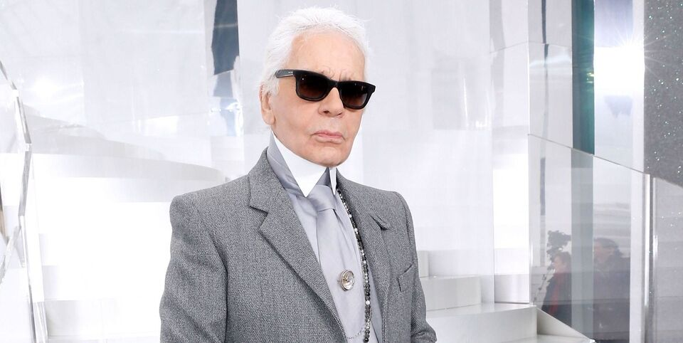 This Middle Eastern Designer Pays Tribute To Legendary Late Karl Lagerfeld In Paris