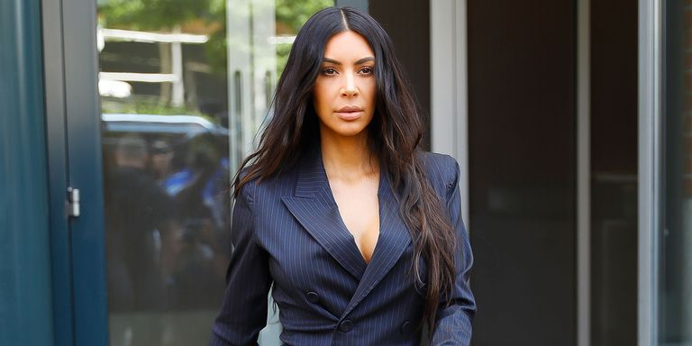 Kim Kardashian Just Gave Us All The Holiday Feels In A Tiny Versace Gown