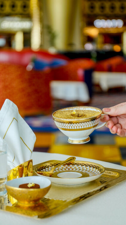 This Dubai Hotel Is Now Serving Gold Cappuccinos